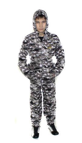 Детский камуфляж костюм для мальчиков Лесоход цвет Город, фото 2