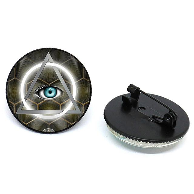 значок глаз масон