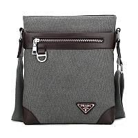Мужская сумка Prada. Оригинал. Современный дизайн. Новое поступление. Отличное качество. Код: КС52-1