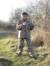 Костюм дождевик детский Лесоход камуфляж Камыш, фото 3