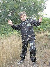 Костюм детский Лесоход для мальчиков камуфляж темный лес, фото 2