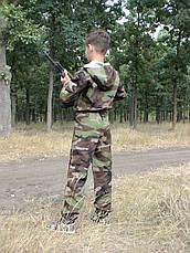 Комбинезон детский Лазертаг для мальчиков камуфляж Лес, фото 3