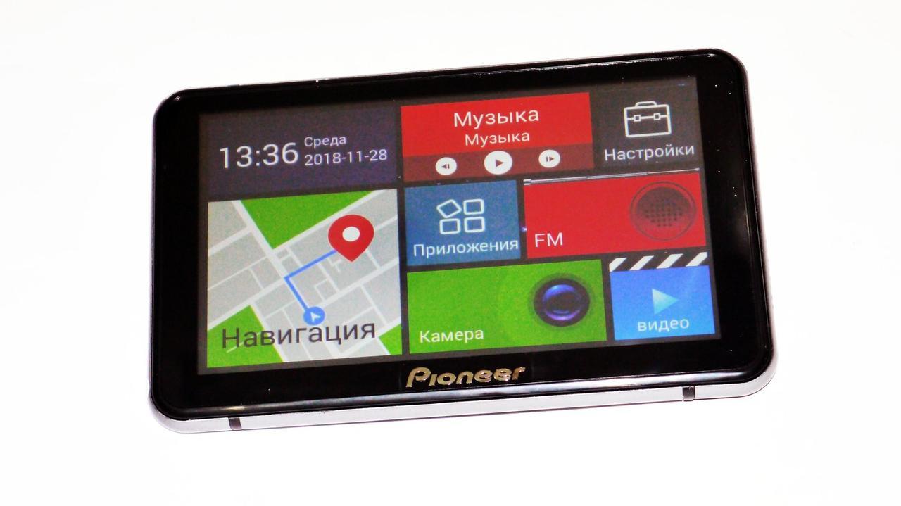 "Видеорегистратор-навигатор 7"""" Pioneer 502 - DVR+ GPS+ Android"