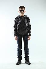 Ветровка  детская камуфляж цвет серый, фото 2