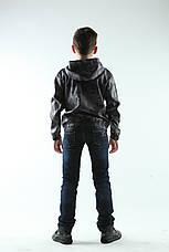 Ветровка  детская камуфляж цвет серый, фото 3