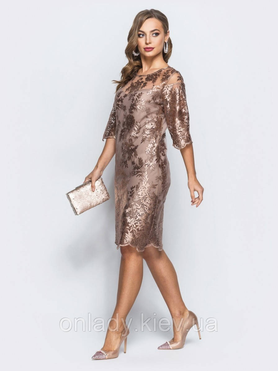 af924027061 Кружевное нарядное платье на свадьбу (M) - Интернет-магазин