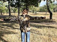 Куртка детская Юниор для мальчиков камуфляж Дубок рост 164 см 12-14 лет