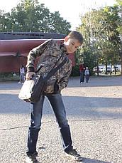 Куртка детская Юниор для мальчиков камуфляж Дубок, фото 2