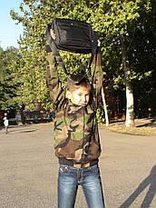 Куртка детская Юниор для мальчиков камуфляж Лес, фото 2
