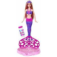 Barbie Bubble-Tastic Mermaid Doll Кукла Барби Русалочка Волшебные пузырьки