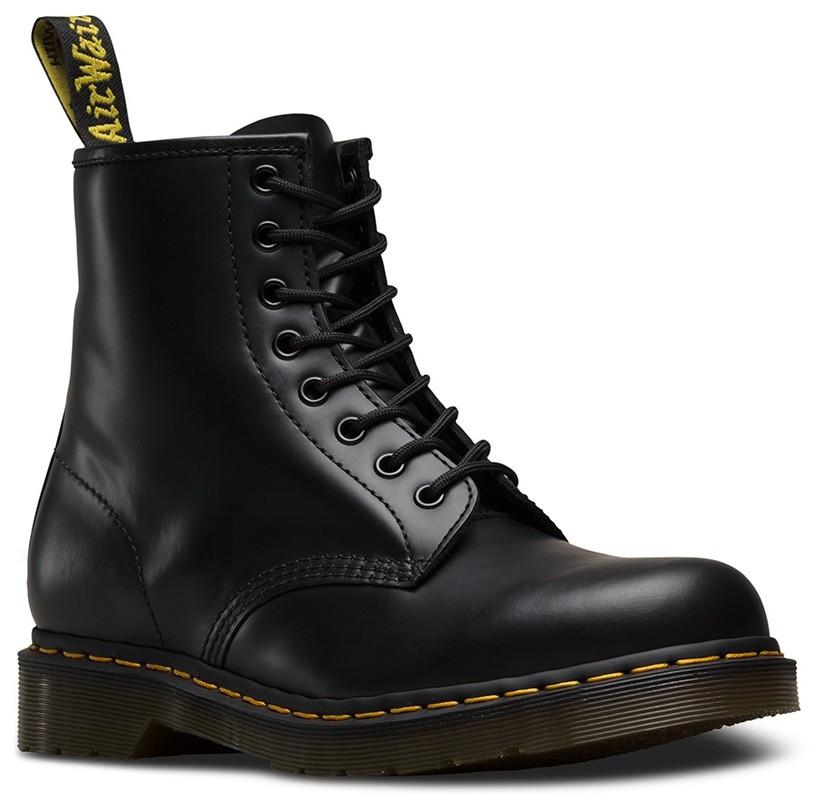 Женские зимние ботинки Dr. Martens 1460 с натуральной кожей и мехом -  Магазин обуви JSJ 06274b72b603f