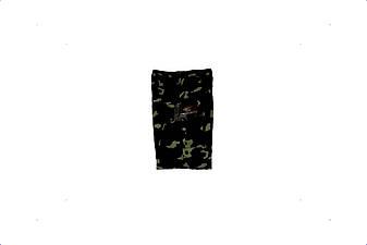 Шорты трикотажные детские для мальчиков камуфляж темный лес, фото 2