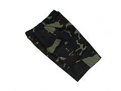 Шорты детские для мальчиков камуфляж темный лес, фото 2