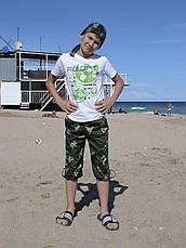 Бриджи детские Кадет для мальчиков камуфляж Березка, фото 2