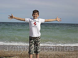 Бриджи детские для мальчиков камуфляж Army, фото 2