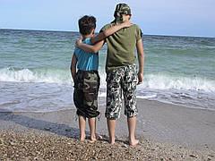 Бриджи детские для мальчиков камуфляж Army, фото 3