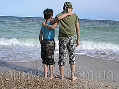 Бриджи детские Кадет для мальчиков камуфляж Army, фото 3