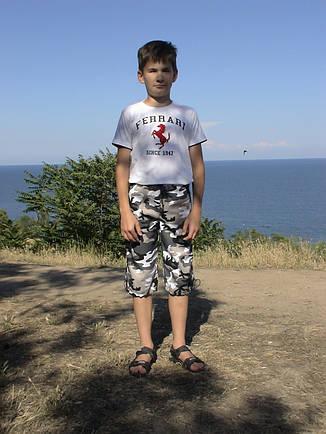 Бриджи детские Кадет для мальчиков камуфляж Спецназ, фото 2