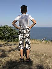 Бриджи детские Кадет для мальчиков камуфляж Спецназ, фото 3