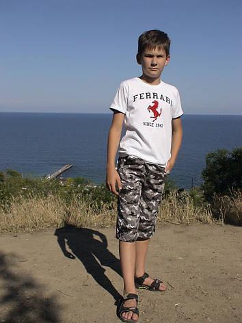 Бриджі дитячі для хлопчиків камуфляж, фото 2