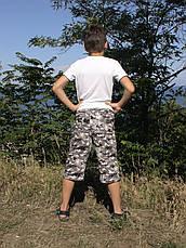 Бриджі дитячі для хлопчиків камуфляж, фото 3