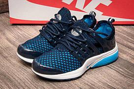 Кроссовки детские Nike Air Presto Flyknit Ultra, синий 2540-2