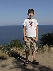 Бриджі дитячі для хлопчиків камуфляж Сафарі, фото 3