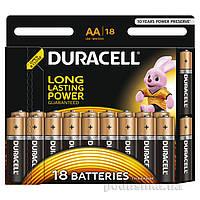 Батарейка Duracell Basic AA алкалиновая 1.5V LR6 (18 шт.)
