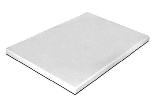 Доска разделочная белая 500х400х20 мм Resto line, FoREST