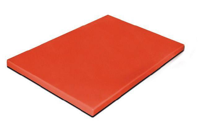 Доска разделочная красная 500х400х20 мм Resto line, FoREST
