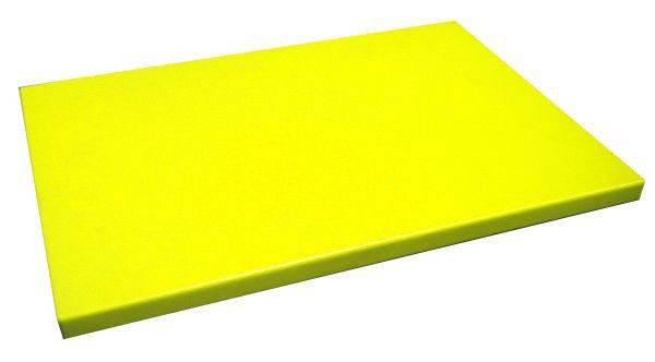 Доска разделочная желтая 400х300х20 мм Resto line, FoREST