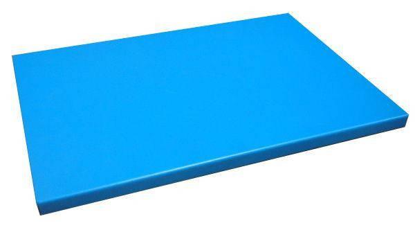 Доска разделочная голубая 600х400х20 мм Resto line, FoREST
