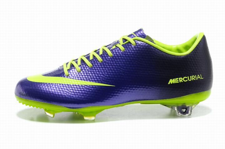 Оригинальные футбольные мужские бутсы Mercurial Vapor X AG/MG [Blue/Green] 41