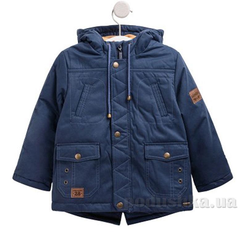 Куртка для Мальчика Bembi КТ172 Плащевка с Утеплителем Синяя 122 Цвет Синий  — в Категории