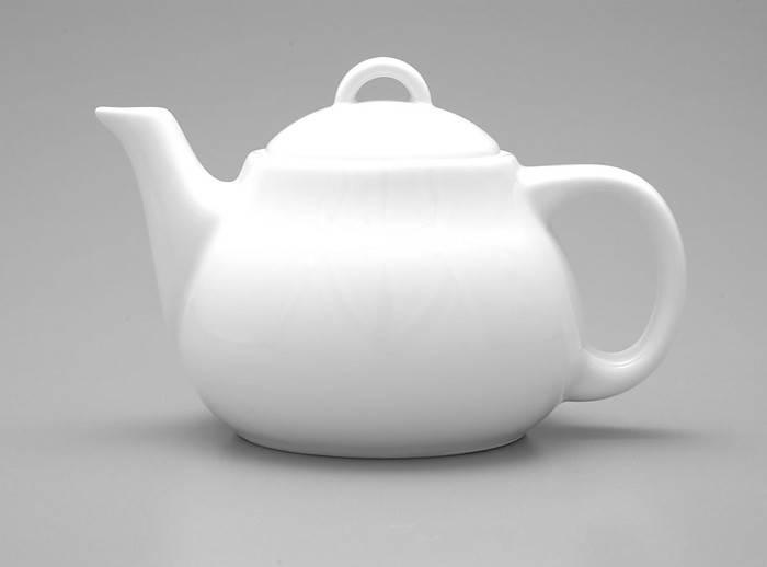 Чайник 500 мл. фарфоровый, белый Milano, Lubiana