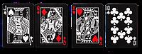 Карты для игры в покер USPCC Bicycle Black Tiger Deck, КОД: 258432