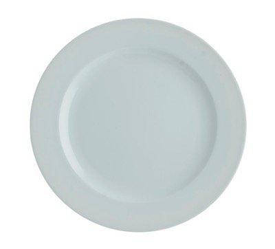 Тарелка круглая 20 см. фарфоровая, белая Aspen, FoREST