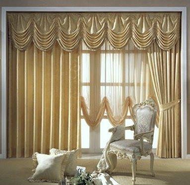 Французские шторы – королевская помпезность в современном доме