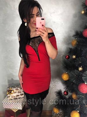 Женское вечернее платье с кружевом чероне, красное , розовое