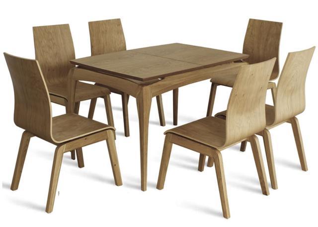Стол Градо в комплекте со стульями Виано (бук)