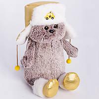 Мягкая игрушка кот Снежик