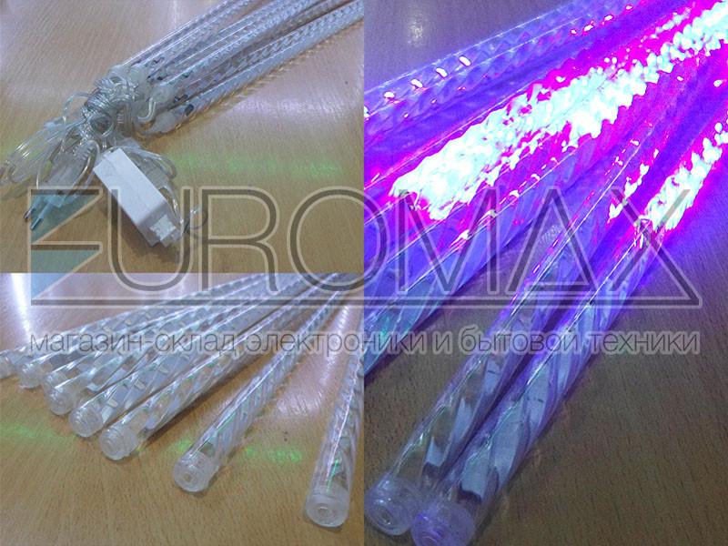 Гирляда Сосулька 3528 50см (синий) LED-STICK-50CM-B