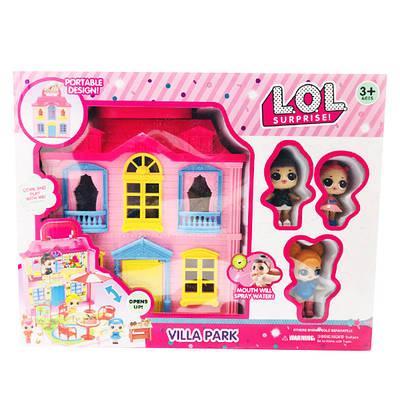 Набор L.O.L Villa Park Домик с куклами