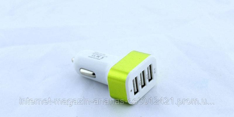 Адаптер CAR USB 3 USB AR 29