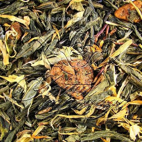 """Зелений ароматизований чай """"Тропічний острів"""""""