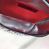 Сумка женская на пояс Валентино Garavani Free Rockstud Spike 20, 23 см, цвет серебристый, натуральная кожа, фото 2