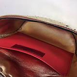 Сумка жіноча на пояс Валентино Garavani Free Rockstud Spike 20, 23 см, колір золотистий, натуральна шкіра, фото 4