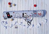 Ролл (рулон) для хранения вышитых работ Влюбленные коты