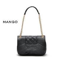 Стильная сумка Манго с двумя ручками