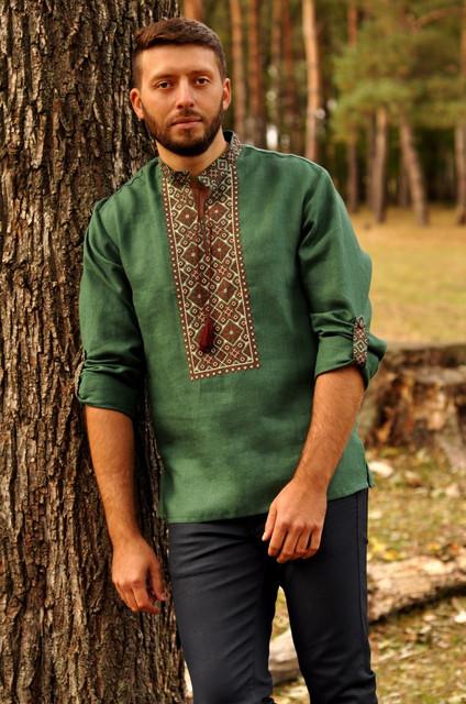 Мужские вышиванки с универсальным рукавом